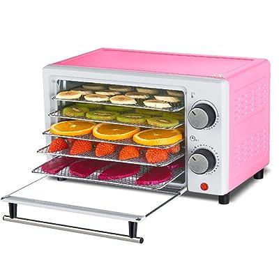 Fruits Déshydrateur Machine Avec Minuterie Et Température Ajustable Contrôle 5 Plateau