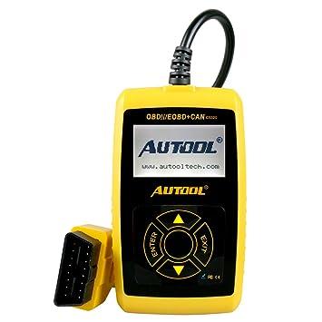 Autool CS320 OBDII EOBD CAN - Herramienta de diagnóstico para comprobar la luz del motor y