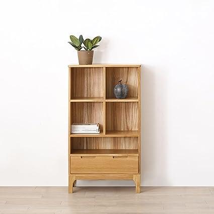JCRNJSB® Estante, estante contemporáneo moderno del estante de madera del estante del estante del
