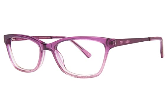 2368d19c5 Amazon.com  Ted Baker B948 Childrens Eyeglass Frames - Purple  Clothing