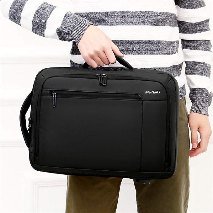 AIQQ Mochila para Portátil, Backpack/Mochila de Seguridad Impermeable 16 Pulgadas/Antirrobo Mochila de Negocios con Carga USB Bolsa de Viaje/Al Aire Libre ...
