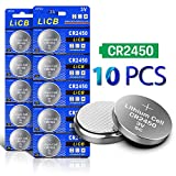 Health & Personal Care : LiCB 10 Pack CR2450 Battery 3V Lithium CR 2450