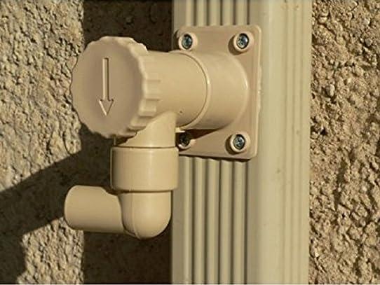 récupérateur d'eau de pluie rectangulaire capt'eau: amazon.fr ... - Robinet Pour Recuperateur D Eau De Pluie