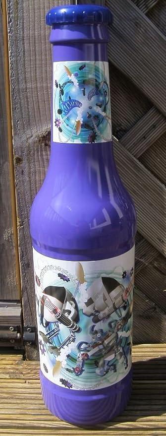 Robot de niños de diversión novedad – Hucha de plástico botella. 60 cm