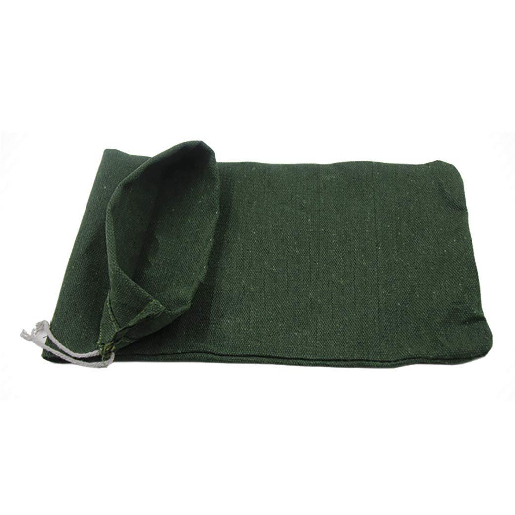 OriginA Empty Sandbag Flood Barrier Sand Bags for Flood Control, Eco-Friendly, 10x16in, 50 Pack, Green by OriginA (Image #3)