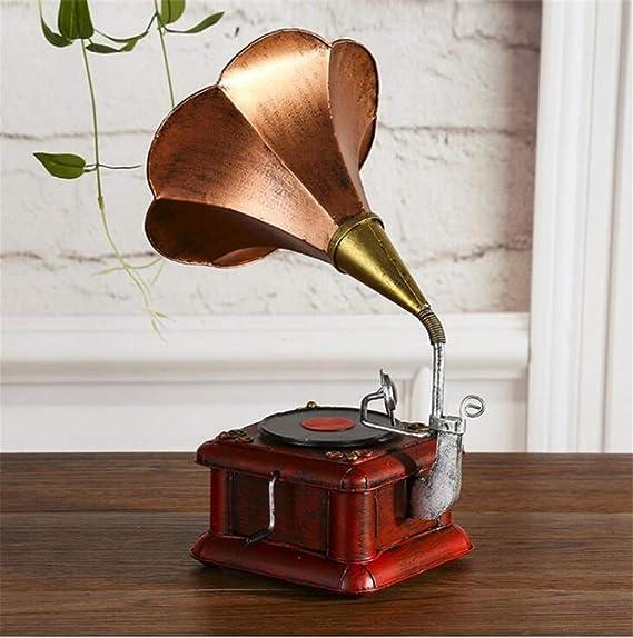 shunlidas Suerte Mopec Decorativas Vintage Gramófono Retro ...