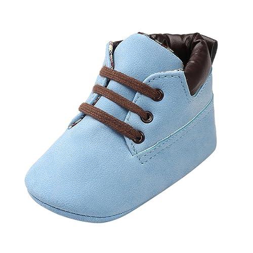 d6d553198f243d Kobay Kinder Schuhe ROMIRUS Baby Kleinkind Weiche Sole Leder Schuhe  Säugling Junge Mädchen Kleinkind Schuhe (