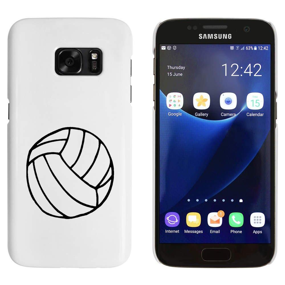 Stamp Press Blanco Voleibol Funda / Carcasa para Samsung Galaxy ...