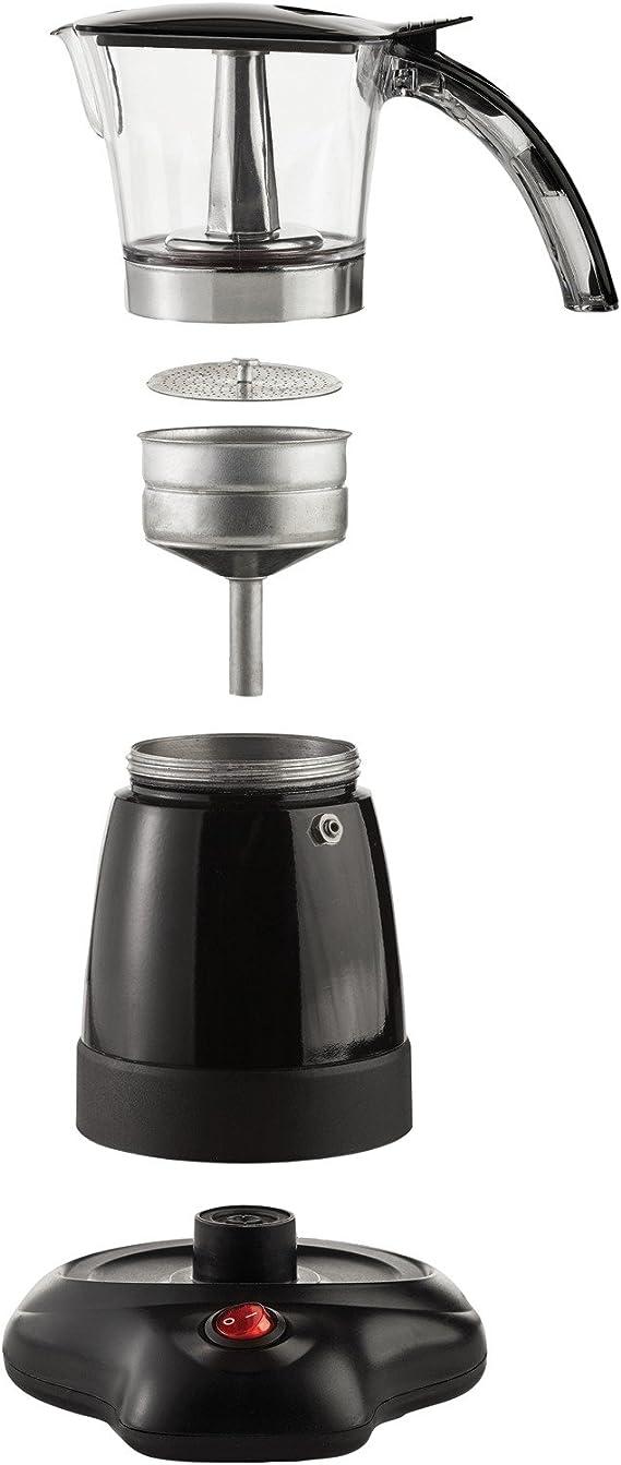 Amazon.com: Brentwood aparatos ts-118bk Moka Espresso Coffee ...