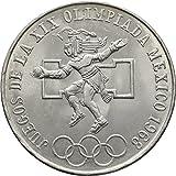 1968 Mexico 25 Pesos Silver (0.720 oz. Pure)