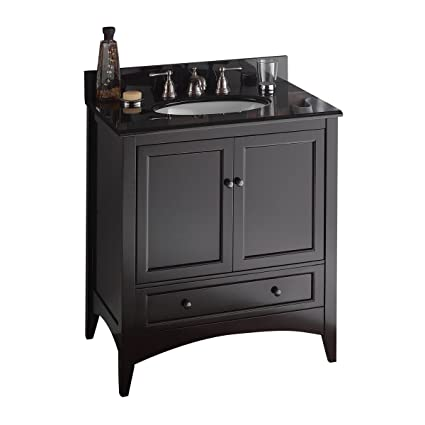 Foremost BECA3021D Berkshire 30 Inch Espresso Bathroom Vanity