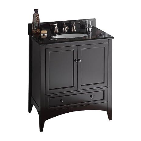 Foremost BECA3021D Berkshire 30 Inch Espresso Bathroom Vanity