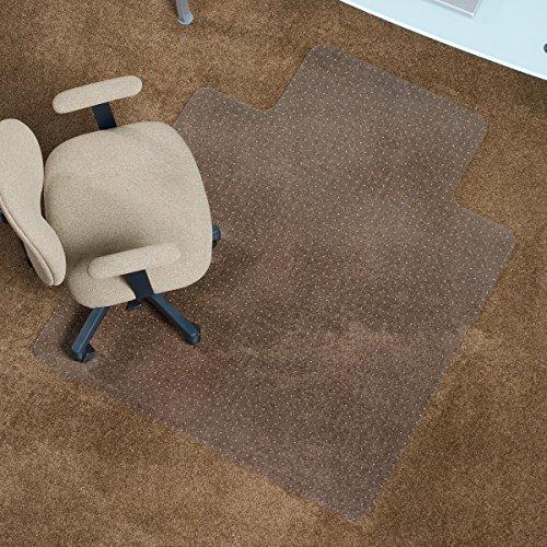 ES Robbins 128053 Low Pile with Lip, Vinyl Carpet Chair Mat, 36