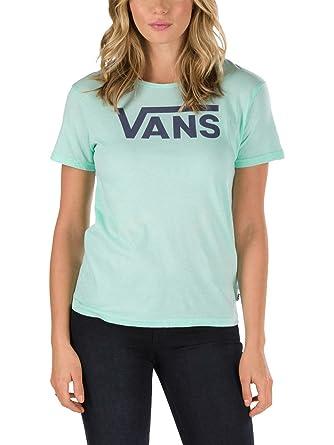 635dadad T-Shirt Women Vans Flying V Crew T-Shirt: Amazon.co.uk: Clothing