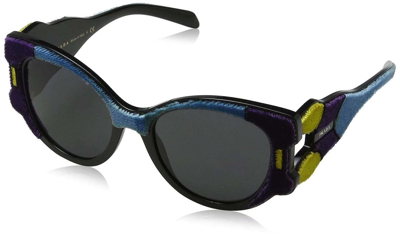 Prada 0PR10US N5B5S0 54, Gafas de sol para Mujer, Amarillo ...