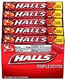HALLS Cough Drops, (Cherry, 9 Drops, 20-Pack)