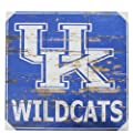 University Of Kentucky Distressed Wood Sign