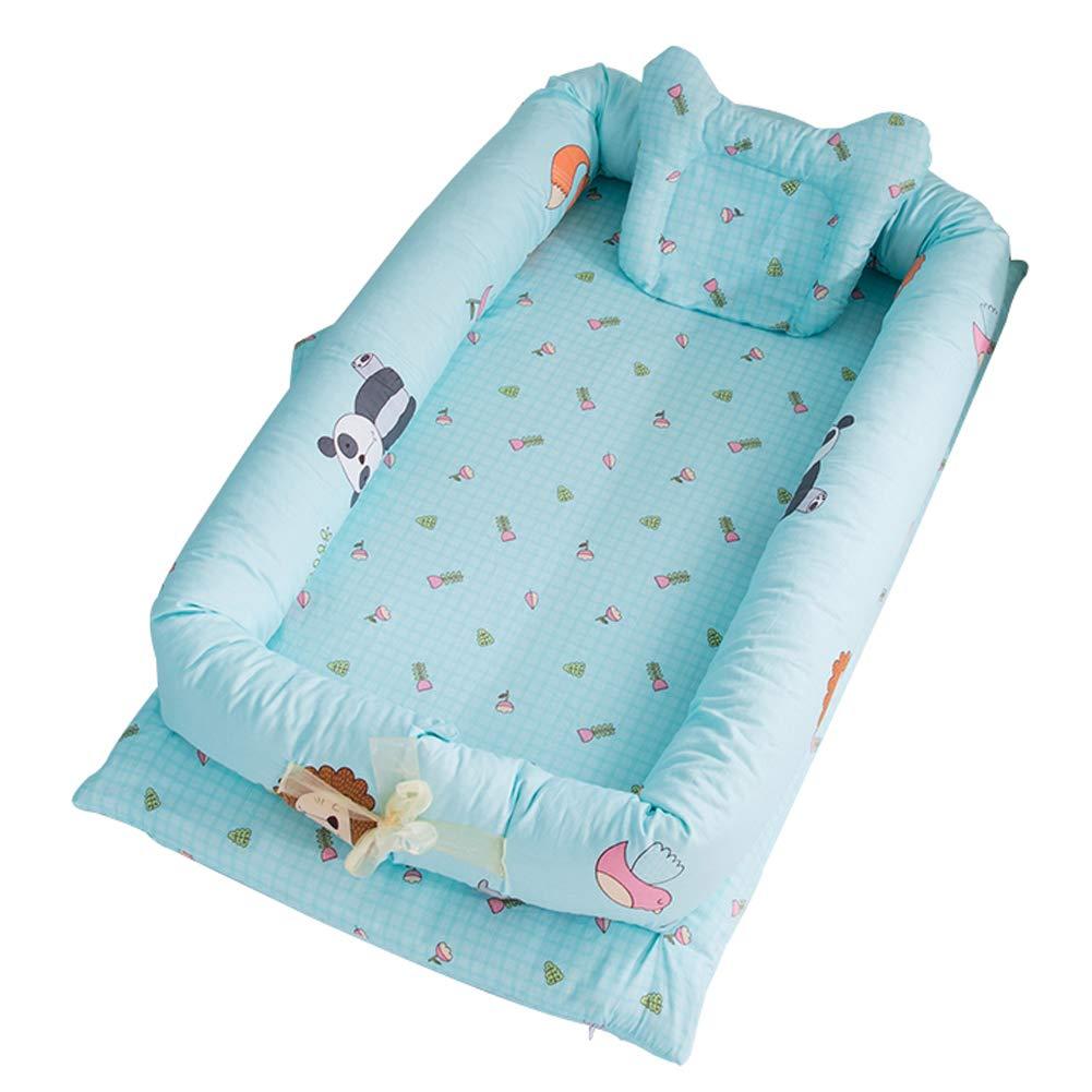 Fashionwu Infant Pretty Detachable Simulating Sleep Nest Baby Portable Travelling Cushion Bed Set Detachable Washable Zoo (Set of 4) 905515cm 4PCS by Fashionwu