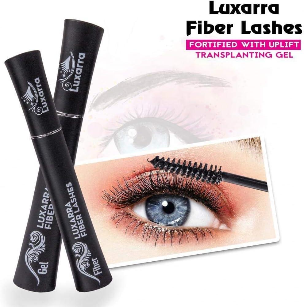 Luxarra 3d Fiber Lash Mascara De Pestañas Impermeable, Lujosamente ...