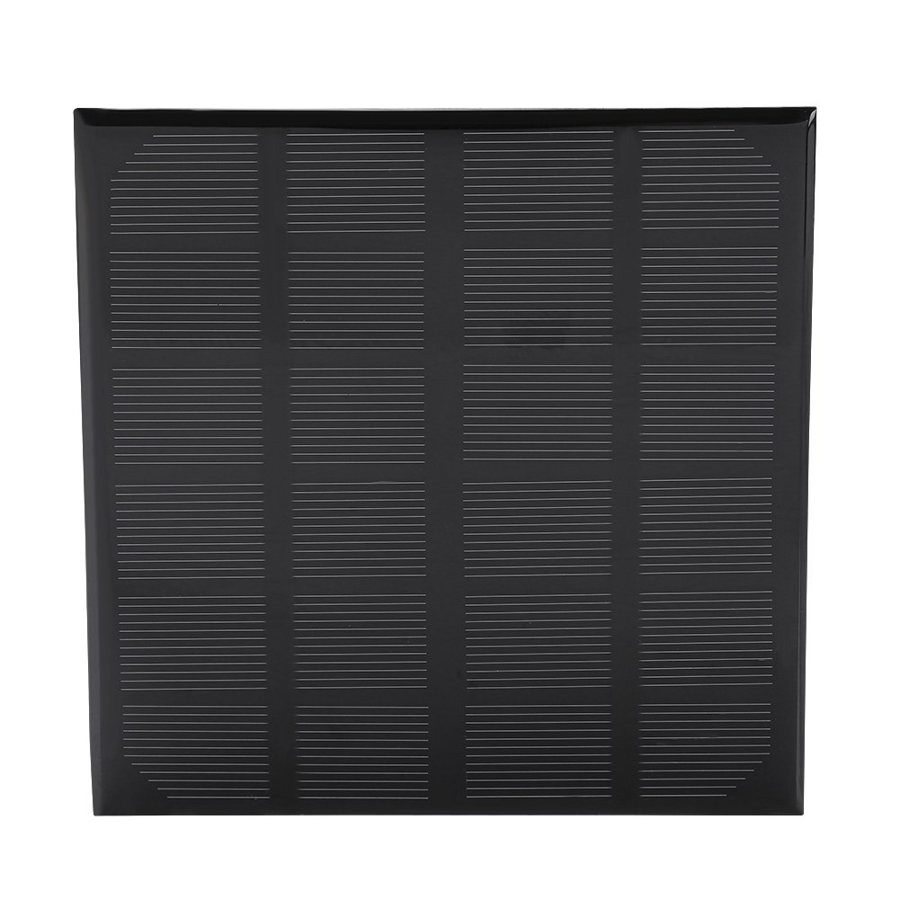 Zerodis 3W 6V Portable Polysilicon Solar Panel Power Charger for Solar Light Phone Battery Charger Toy Flashlight Power Bank