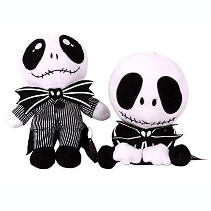 Image Unavailable. Image not available for. Color  YODE Nightmare Before  Christmas Plush Baby Jack Skellington Stuffed Doll Soft Toys ... 7a9a272e5f