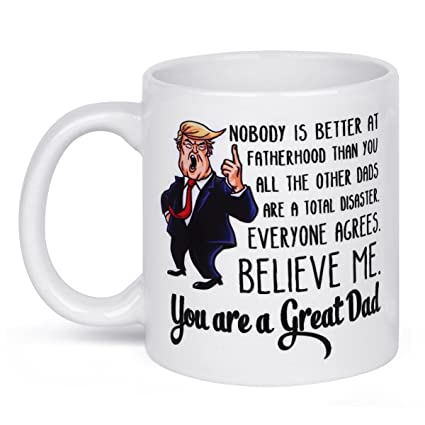 amazon com my sunlight funny donald trump father s day dad coffee