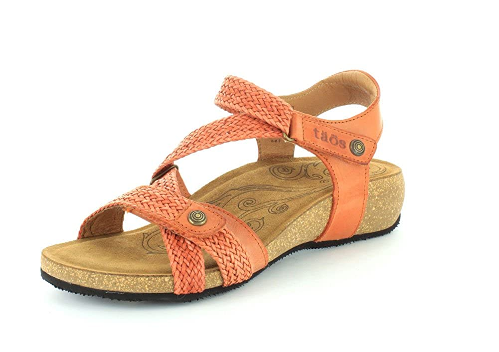 Burnt orange Taos Women's Trulie Wedge Sandal