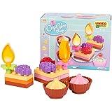 UNICO plus 维尼高布鲁斯 拼插玩具 蛋糕系列 甜点 18个月-5岁 大颗粒兼容 8613-00CC