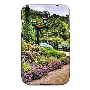 Waterdrop Snap-on Roadside Garden Case For Galaxy S4
