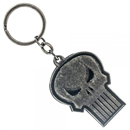 Marvel The Punisher Metal Llavero: Amazon.es: Juguetes y juegos
