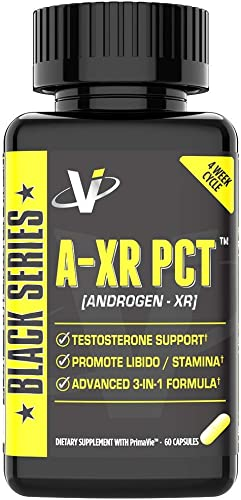 VMI Sports AXR PCT Testosterone Booster Full Spectrum Post Cycle Therapy Boosts Free Testosterone Inhibits Estrogen Conversion