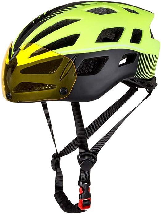 SRUN Casco Bicicleta Adulto De Ciclismo De Carretera Ajustable con ...