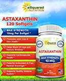 aSquared Nutrition Astaxanthin Supplement - Pure Natural Astaxanthin Pills from Haematococcus Pluvialis Extract - Max Strength 10mg - 120 Softgels Discount
