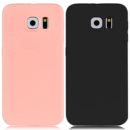 40 opinioni per 2x Custodia Samsung Galaxy S6, Yokata Gel Silicone TPU Morbido Cover Elegant