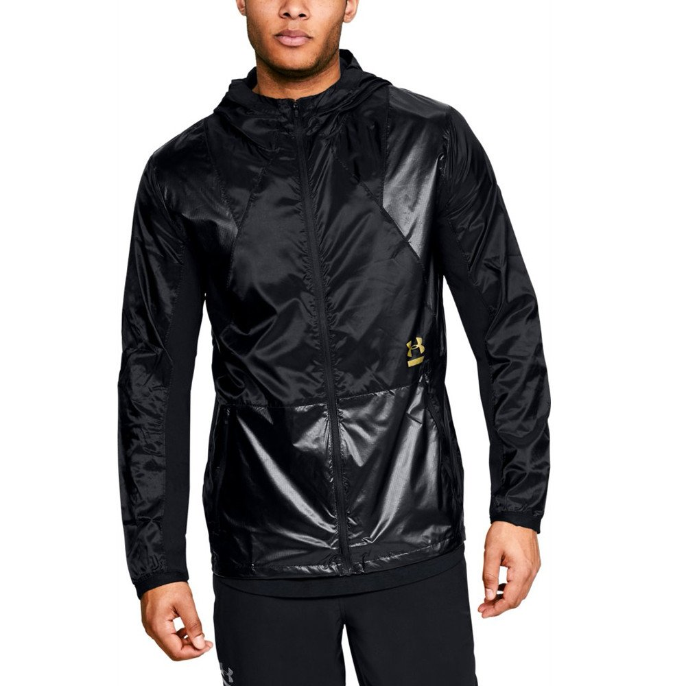 Under Armour Perpetual Full Zip Jacket - SS18 - Medium - Black by Under Armour (Image #1)