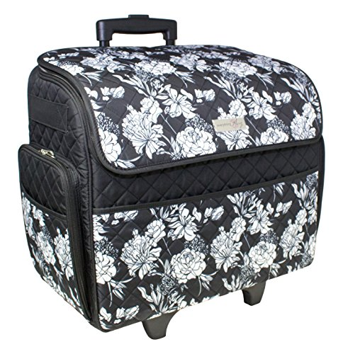 Everything Mary Rolling Sewing Machine Tote (Sewing Machine Tote With Wheels)