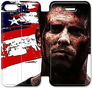 Flip Folio Leather Case for iPhone 5 5s Cell Phone Case The Marine 3 Homefront HPM4615455