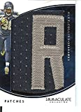 Football NFL 2016 Immaculate Patches #61 Alex Collins MEM 5/10 Seahawks