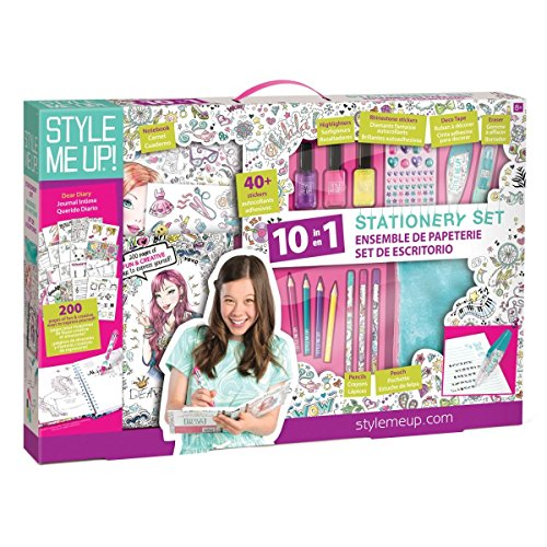 (Style Me Up - Cool Stationery Set for Girls and Teen - Scrapbook Kit for Girls - Birthday Gift for Teens and Girls - SMU -226)