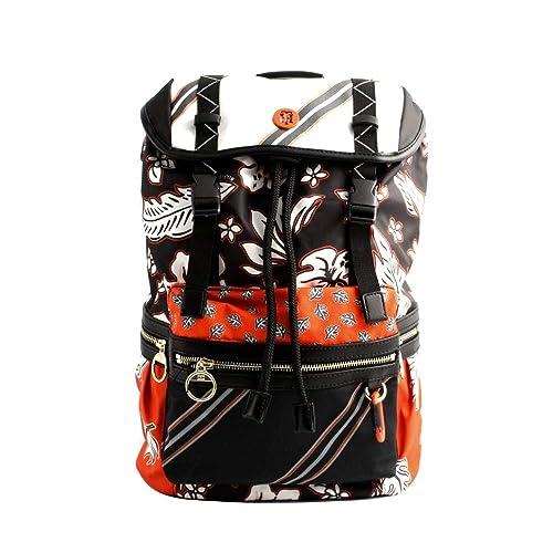 Tommy Hilfiger - Bolso mochila de Lona para mujer Multicolor multicolor talla de un talla: Amazon.es: Zapatos y complementos