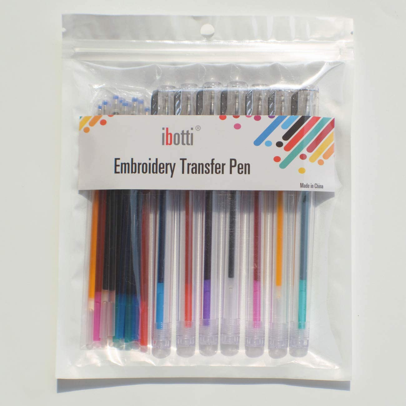 3 DMC U1539 Embroidery Transfer Pen Blue