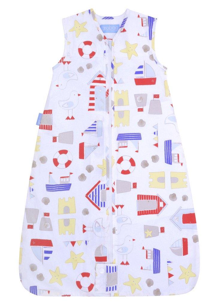 GRO-Bag - Saco de dormir infantil de viaje Arena Castle Bay blanco/multicolor Talla:3-6 años: Amazon.es: Bebé