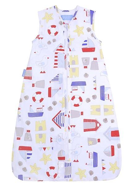 GRO-Bag – Saco de dormir infantil de viaje Arena Castle Bay blanco/multicolor