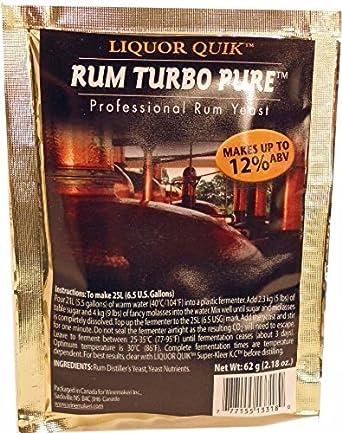 Liquor Quick Rum Turbo Pure Professional Rum Yeast