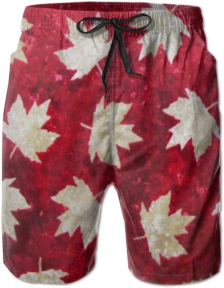 YOIGNG Boardshorts Snowflake Mens Quick Dry Swim Trunks Beach Shorts