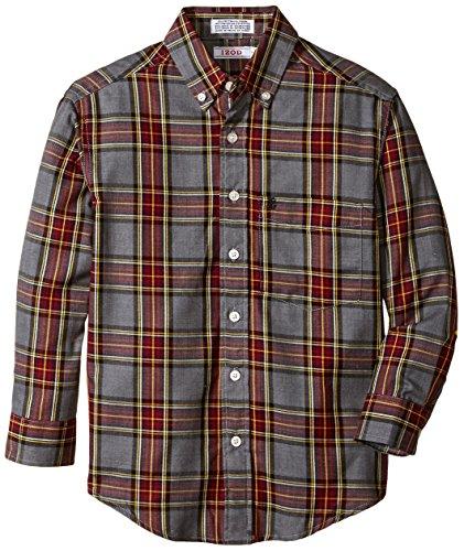 IZOD Sleeve Plaid Woven Shirt product image