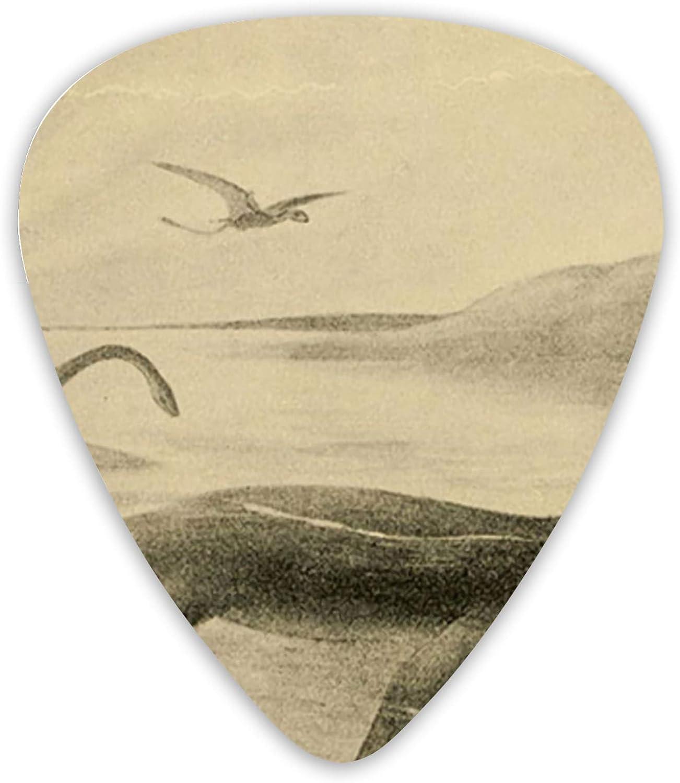 Loch Ness Monster - Púas para guitarra acústica (12 unidades)