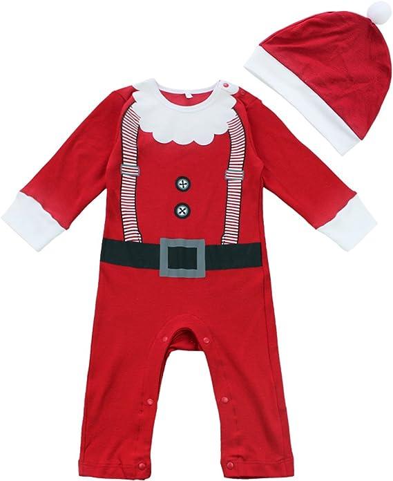 Bébé père noël santa déguisement veste /& pantalon tenue 3-6 mois neuf