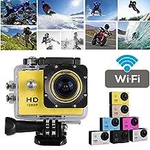 "Full HD 1080P 2"" WIFI Action Cam DV Sports Move Recorder Camera Video Waterproof"