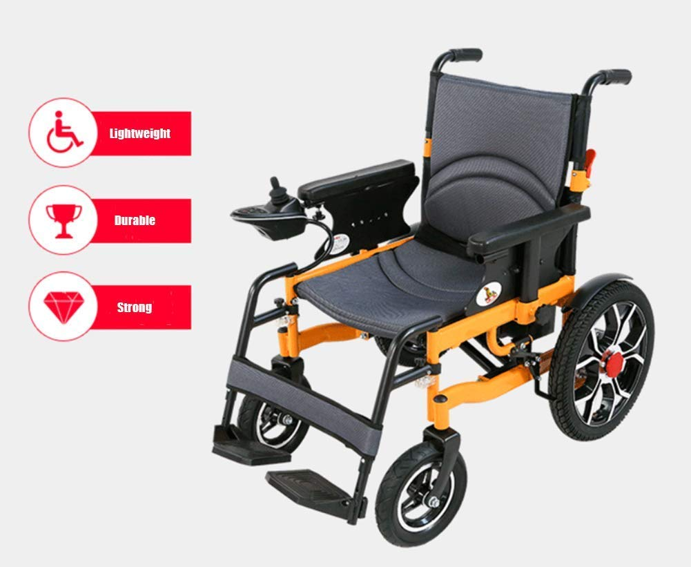 TWL LTD-Wheelchairs Silla de Ruedas Eléctrica Plegable Silla ...